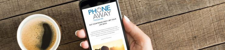 Phone away product reviews